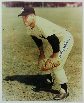 Hank Bauer Signed Auto Autograph 8x10 Photo VI