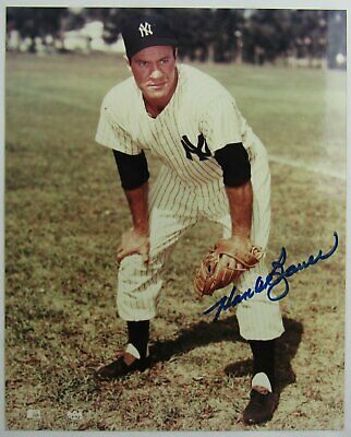 Hank Bauer Signed Auto Autograph 8x10 Photo VII