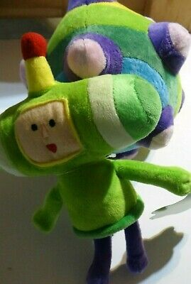 Katamari Damacy REROLL (Nintendo) Prince & Ball Plush *NO GAME INCLUDED*