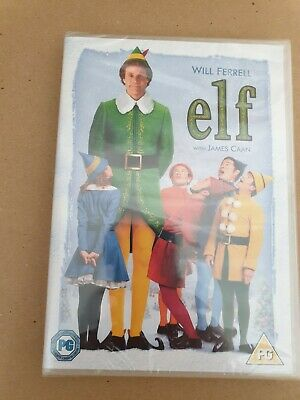 ELF FILM MOVIE DVD PG PAL Starring Will Ferrel w James Caan NEW AND SEALED