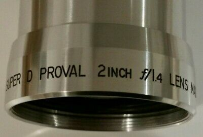 16 Mm Bell & Howell Film Projector Super Proval Lens F1.4