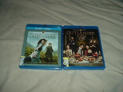 Outlander Complete First + Second Seasons BLU-RAY 9-Disc Set 1 2 One Two