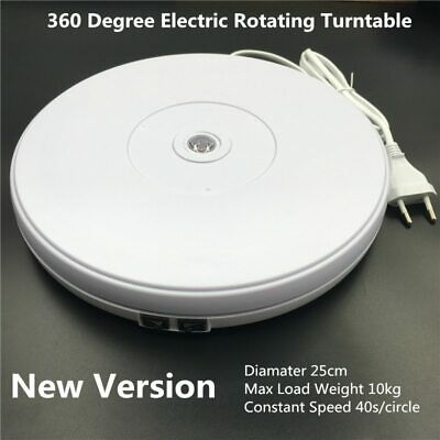 Pro 360 Degree Electric Rotating Turntable for Photography Up To 10kg Load
