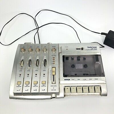 Tascam MF-P01 Portastudio Cassette Tape Recorder Japan Turns On Untested