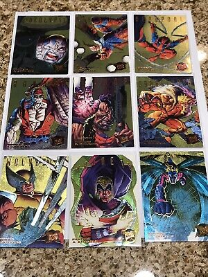 1995 Fleer Ultra X-Men WALMAT GOLD HUNTERS AND STALKERS SET NM/M