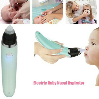 Baby Nasal Aspirator Electric Nose Cleaner Snot Vacuum Sucker for Toddler Infant