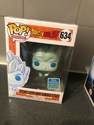 Funko Pop! Dragon Ball Z Gotenks Super Ghost Kamikaze Attack #634 - SDCC 2019