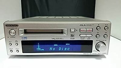 Onkyo Hi-MD Mini Disc Recorder Player MD105FX MD-105FX Working Used