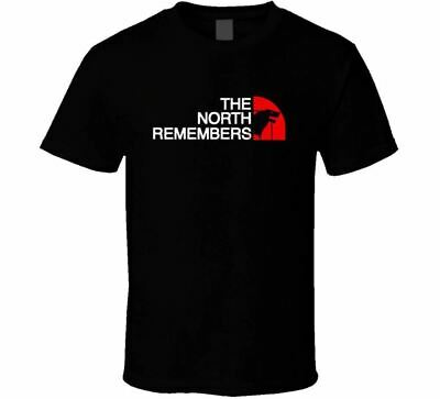 Game Of Thrones T Shirt The North Remembers Stark Logo Direwolf Wolf Got Tee