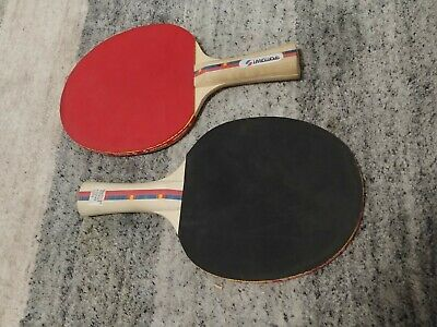Sportcraft Ping Pong Paddle Table Red, Blue Set of 2