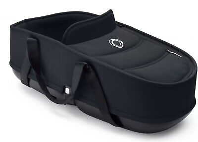 Bugaboo Bee 5 Carrycot Base + Fabrics in Black RRP-£200!!!