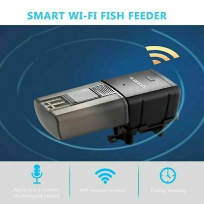 Automatic Fish Tank WiFi Smart Fish Feeder Aquarium Remote Control Food Feeder