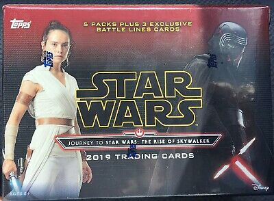 2019 Topps Journey To Star Wars:the Rise Of Skywalker Blaster Box 3 Battle Lines
