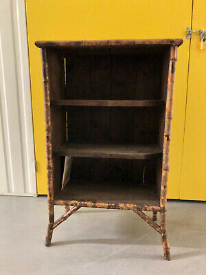 Victorian Bamboo Book Case in good condition