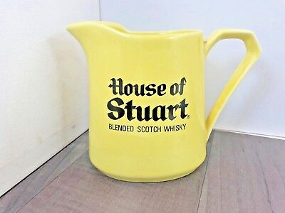 Authentic Vintage House Of Stuart Blended Scotch Whisky Water Jug Hcw Rare
