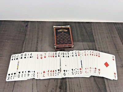 Authentic Official Southern Comfort Whisky Playing Cards 2006 Branded Whiskey