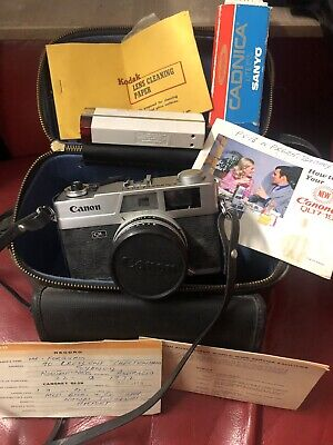 Canon Canonet QL 19 and Case