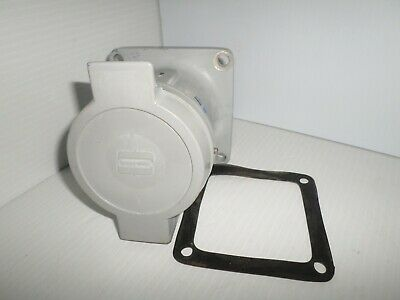 Cooper Crouse Hinds AR642 60-Amp PIN&SLEEVE RECEPTACLE 60A 3W 4P