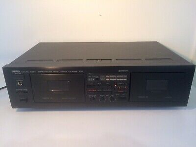 Yamaha Natural Sound Stereo Double Cassette Deck KX-W262
