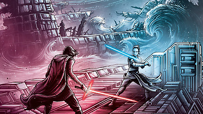 """2019 Star Wars The Rise of Skywalker Movie Poster 20x12"""""""