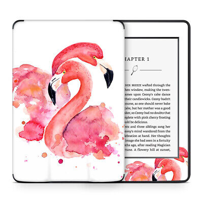 Pink Flamingo Love Skin Sticker Decal Protective Wrap to cover Kindle Paperwhite