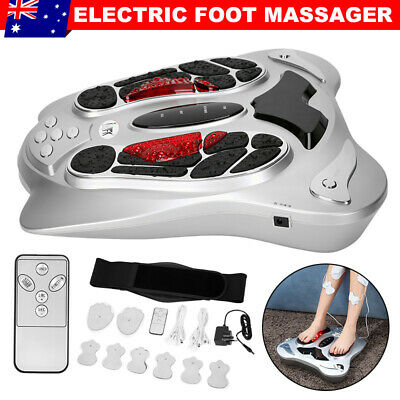 Electric Foot Massager Circulation Booster Fitness Belt Infrared Therapy Machine