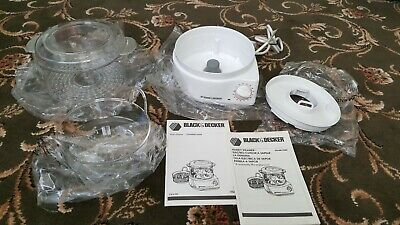 Steamer Black & Decker Brand new with Instructions. No box.