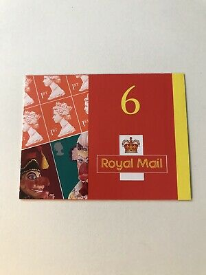 GB 2001 Punch And Judy Stamp Booklet (6x 1st Class Stamps) MINT