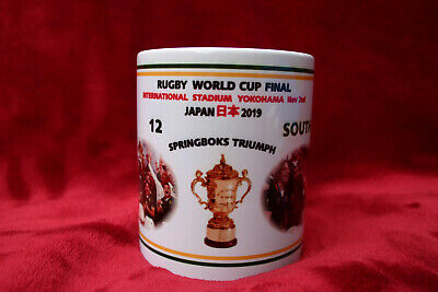 2019 Rugby World Cup Final Mug South Africa Mug Rugby Mug Shirt Springboks Japan