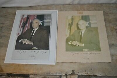 Barry Goldwater Signed Photograph To Gearld Goldwater With Fond Regards