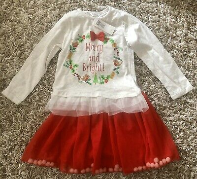 BNWT Girls Christmas Outfit age 2-3 Years
