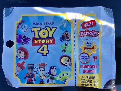 ALL 12 Toy Story 4 Mini 2019 SERIES 3  Disney Pixar Mystery Blind Bag Figures