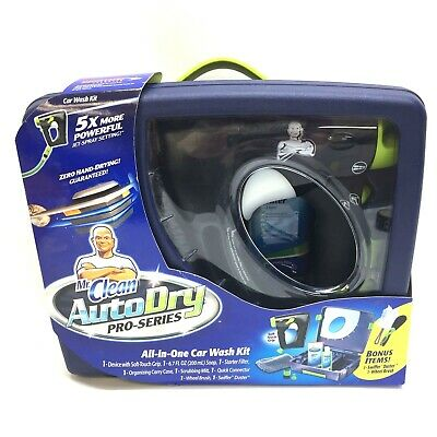 Mr Clean AutoDry Pro Series All-in-One Car Wash Kit