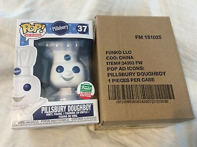 Funko POP! Ad Icons Pillsbury Doughboy #37 Funko-Shop Exclusive In Hand