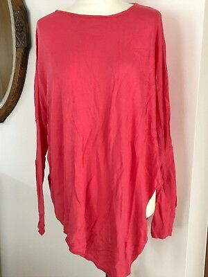 Phase Eight Pretty Pink Viscose/wool Blend Summer Jumper – Size S