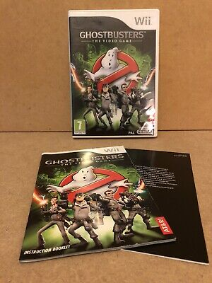 Ghostbusters The Video Game Nintendo Wii Complete With Manual VGC - Free UK post