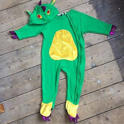Dinosaur Childrens Fancy Dress Costume Wild Dinosaurs Outfit Ages 3//13
