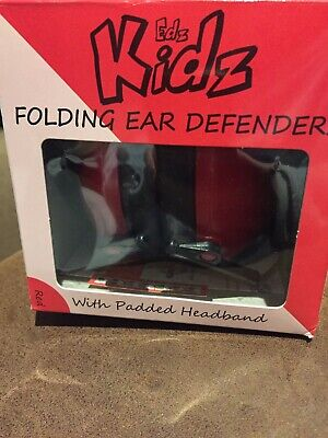 Kidz Ear Defenders - Red - New Boxed