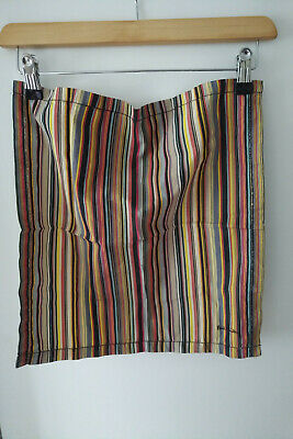 100% cotton large striped handkerchief by Paul Smith