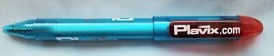 New Extremely RARE Plavix Pen Drug Rep Pharmaceutical Collectible Hard 2 Find