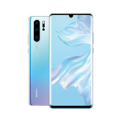 "HUAWEI P30 Pro 8GB/256GB 6.47"" FHD+ Smart Phone Unlocked Breathing Crystal"