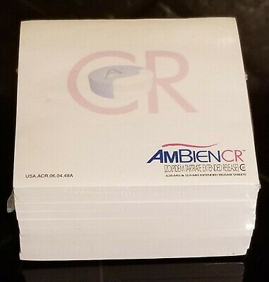 New VERY RARE Ambien CR Pharma Notepad Sticky Notes Post-its SEALED Pack of 10