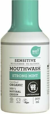 Urtekram Bio 9 Mouthwash Strong Mint (Sensitive) 300ml