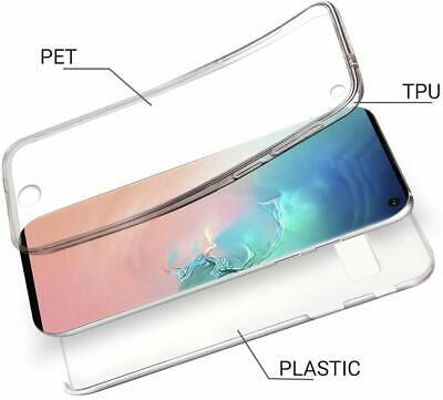 360 Case For Samsung Note 10 S10 S9+S7 Edge Clear TPU Front+Hard PC Back Cover