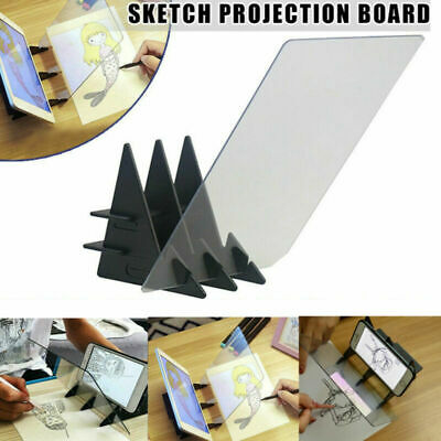 Sketch Tracing Drawing Board Panel Optical Draw Projector Painting Reflection AU