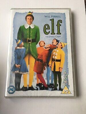Elf - Will Ferrell DVD Brand New Sealed Great Comedy Christmas Value