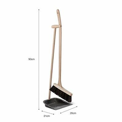 Garden Trading Dustpan and Brush with Beech Handle - Utility Room Accessories