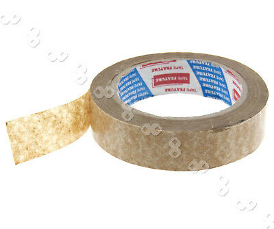 50m x 24mm Brown Self-Adhesive Picture Frame Backing Tape 60gsm