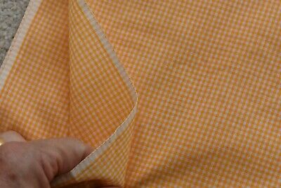 """Dull-Lt-Green 1/"""" Cotton Gingham By 1//2 Yd M7230 Vintage 1940's-60's 34/"""" Wide"""