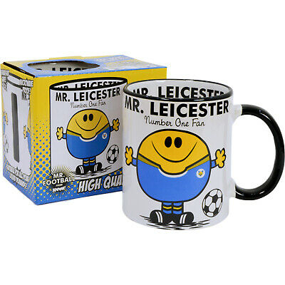 Leicester City FC Mug. Gift for Man Football Soccer Present Xmas Idea Men